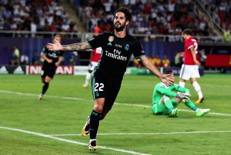 Gol Isco Supercopa Europa 2017