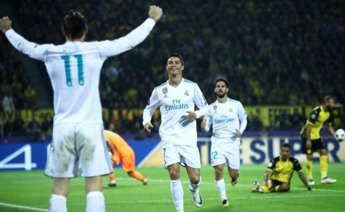 Borussia Dortmund 1-3 Real Madrid