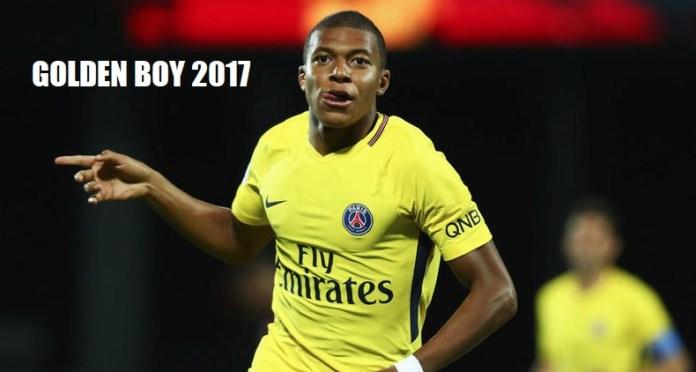 Mbappé Golden Boy 2017