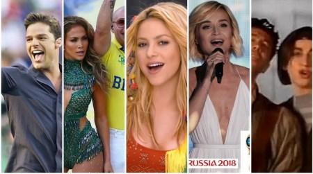 Las mejores canciones de los Mundiales de Fútbol a lo largo de la historia