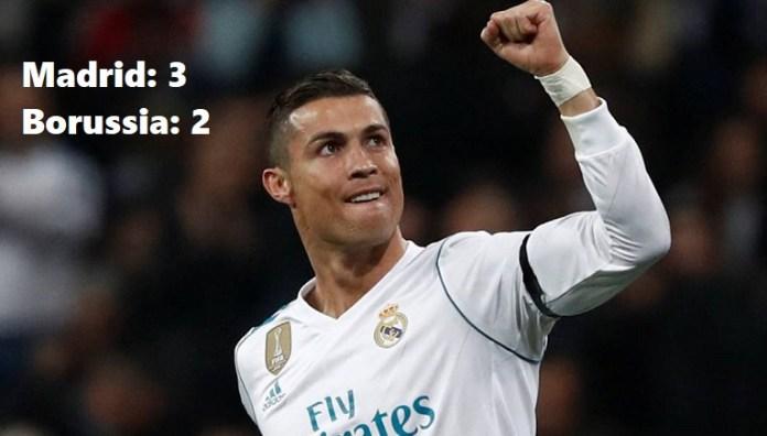 Real Madrid 3-2 Borussia Dortmund