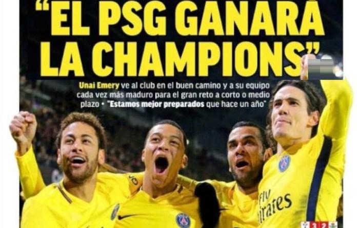 El PSG ganará la Champions