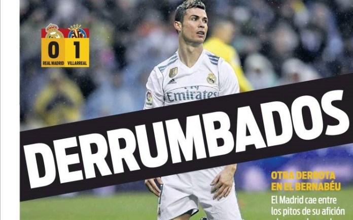 El Madrid se derrumba