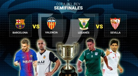 Sorteo Semifinales Copa del Rey 2018