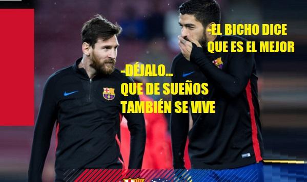 Memes Barcelona-Atlético Madrid 2018