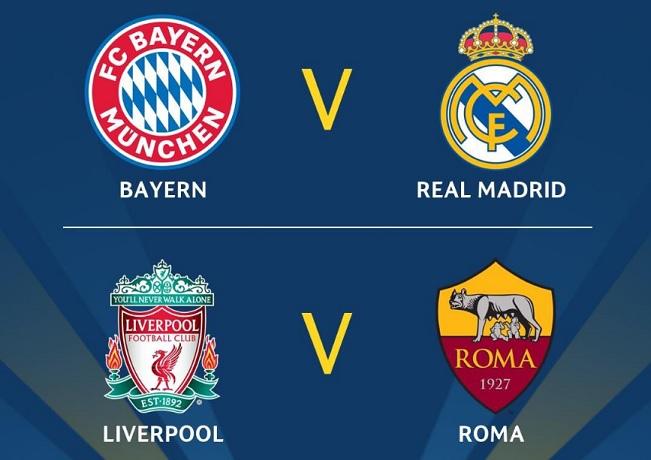 Semifinales Champions League 2018