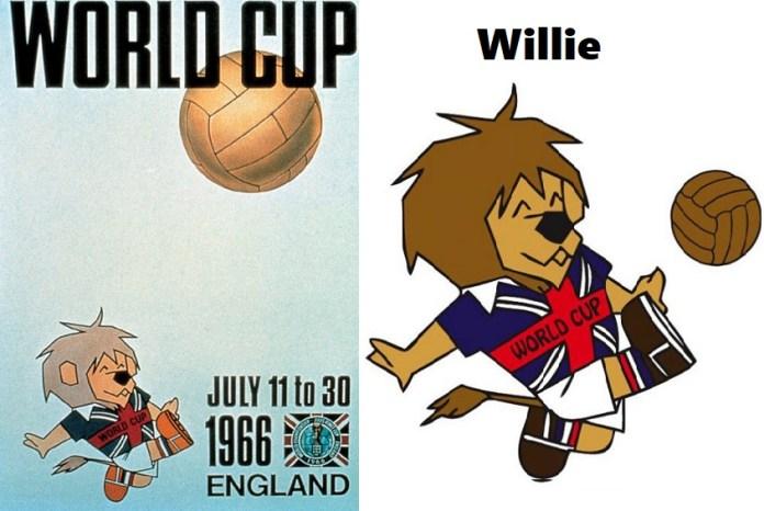 Logo y mascota del Mundial Inglaterra 1966: World Cup Willie