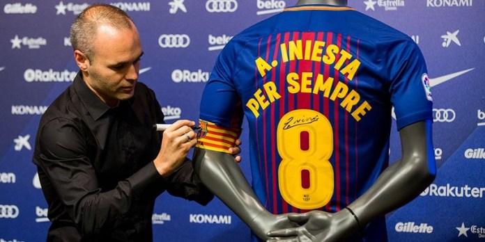 Andrés Iniesta se despide del Barça | Hasta Siempre Don Andrés
