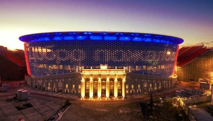 Estadio Ekaterimburgo Arena Sede Mundial Rusia 2018
