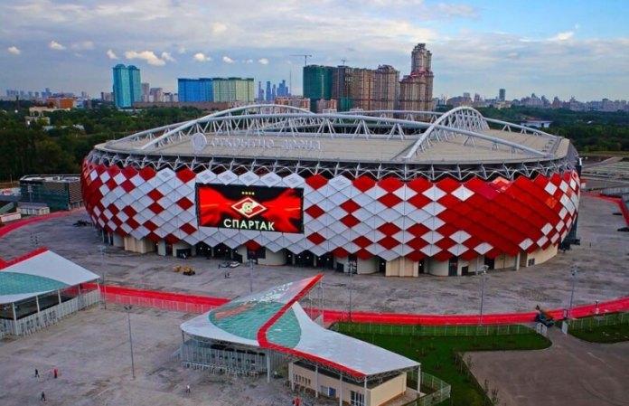 Estadio Otkrytie Arena(Spartak) Sede Mundial Rusia 2018