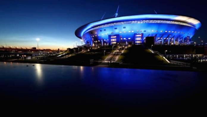 Estadio de San Petersburgo Sede Mundial Rusia 2018