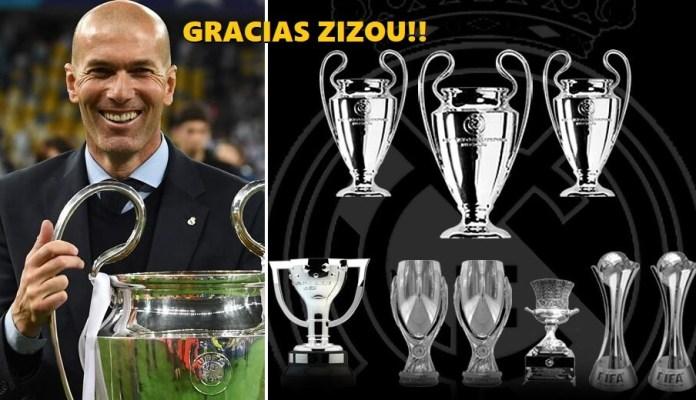 Zinedine Zidane deja el Real Madrid