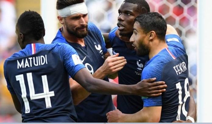 Francia 2-1 Australia Mundial Rusia