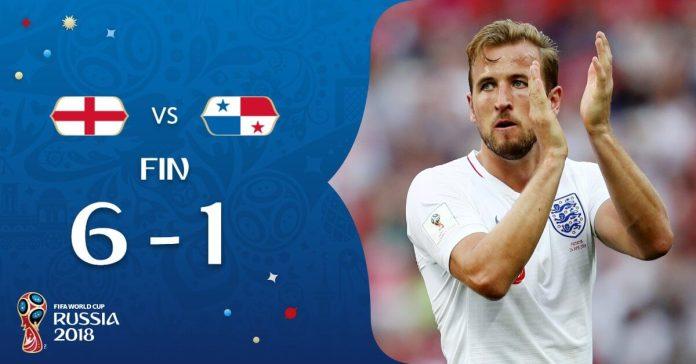 Inglaterra 6-1 Panamá Mundial Rusia