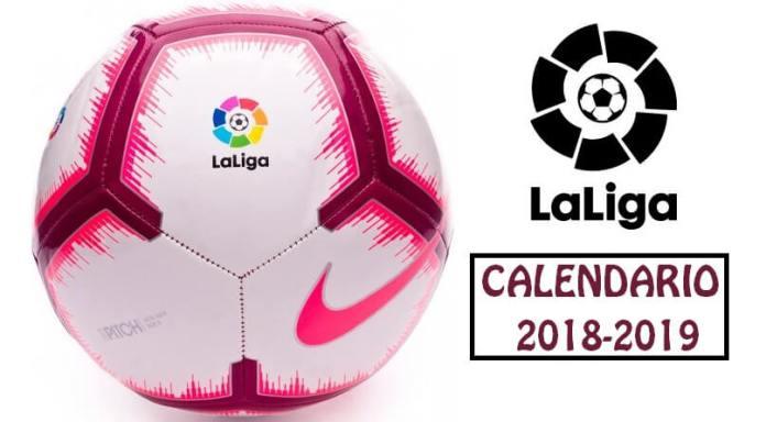 Calendario Liga Española 2018-2019