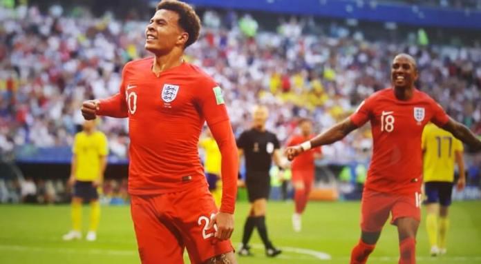 Suecia 0-2 Inglaterra Mundial Rusia