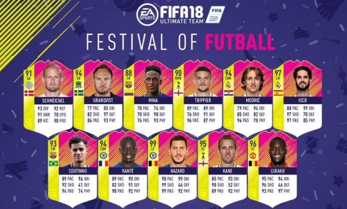 Once ideal del Mundial según EA Sports | FIFA World Cup Rusia 2018