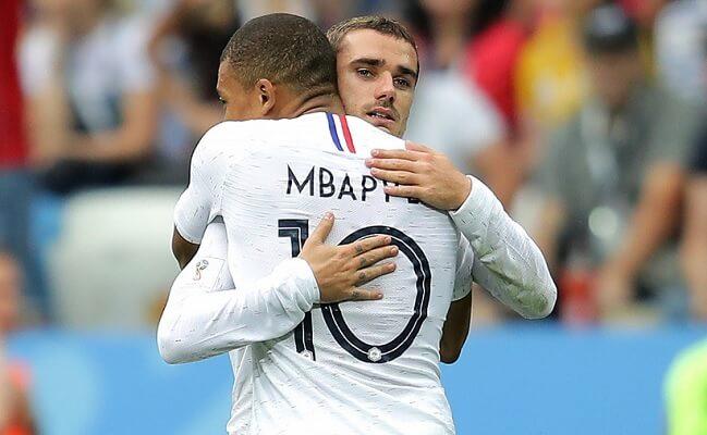 Francia elimina a Uruguay