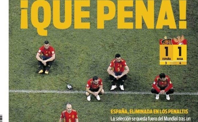 España eliminada