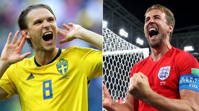 Alineación Suecia-InglaterraMundial Inglaterra