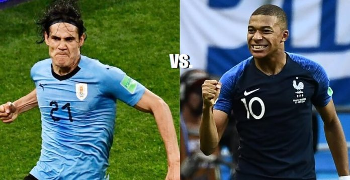 Uruguay-Francia Mundial Rusia 2018