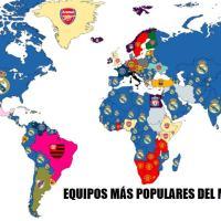 Los equipos de fútbol mas Populares del Mundo