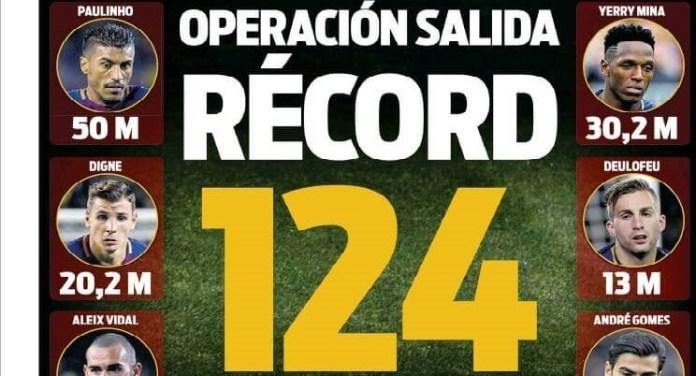 Operación salida récord