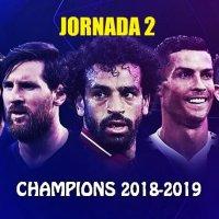 Partidos Jornada 2 Champions League 2018-2019 | Horarios y TV