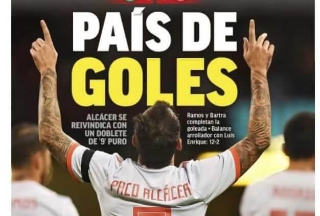 Portadas Deportivas 12/10/2018