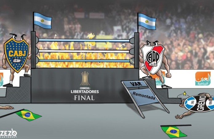 Memes Superfinal Boca-River Libertadores