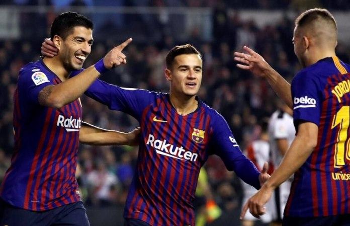 El Barça remonta al Rayo