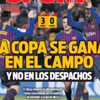 Las Portadas Deportivas 18/01/2019 | Marca, As, Sport, Mundo Deportivo