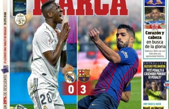 Portadas Deportivas 28/02/2019