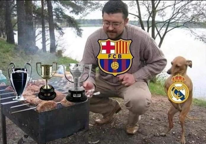 Memes Bacelona-Atlético 2019