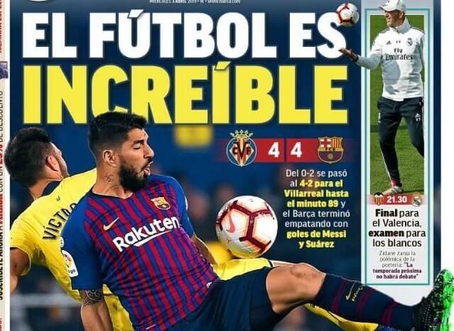 Portadas Deportivas 3/04/2019