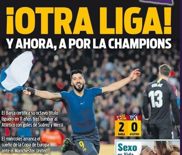 Portadas Deportivas 7/04/2019