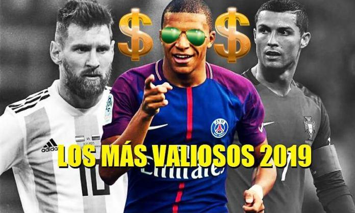Los Futbolistas Más Caros del Mundo 2019