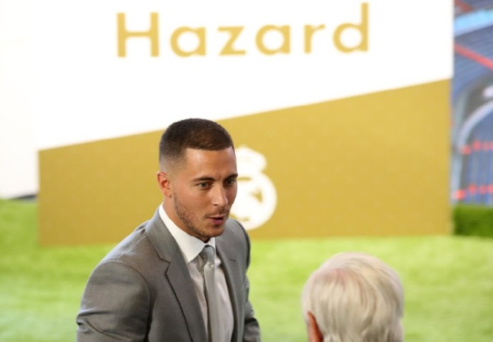 Eden Hazard presentado en el Real Madrid