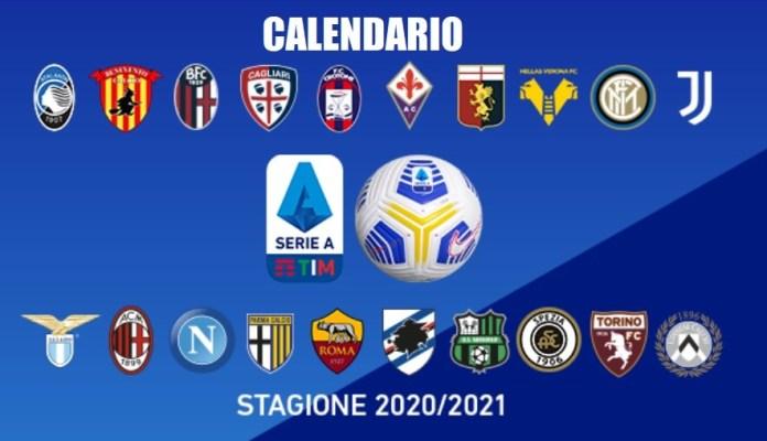 Calendario Liga Italiana 2020-2021 | Serie A