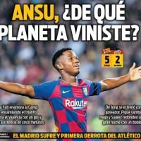 Las Portadas Deportivas 15/09/2019 | Marca, As, Sport, Mundo Deportivo