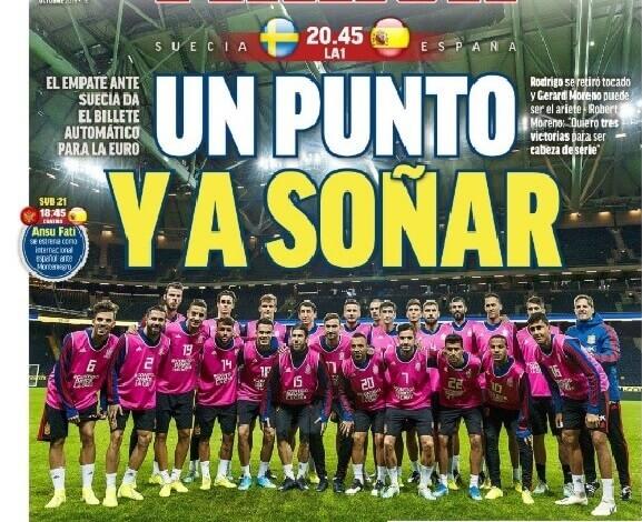 Portadas Deportivas 15/10/2019