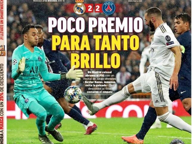 Portadas Diarios Deportivos 27/11/2019