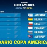 Calendario Copa América 2020 | Fixture completo y Resultados