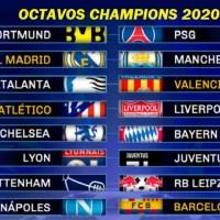 Calendario Octavos Champions League 2020 | Fixture Completo