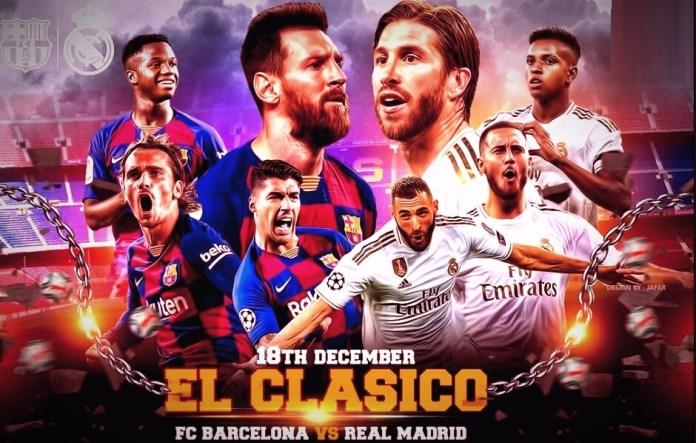 Alineaciones Barcelona-Real Madrid