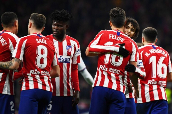 Atlético 2-1 Levante