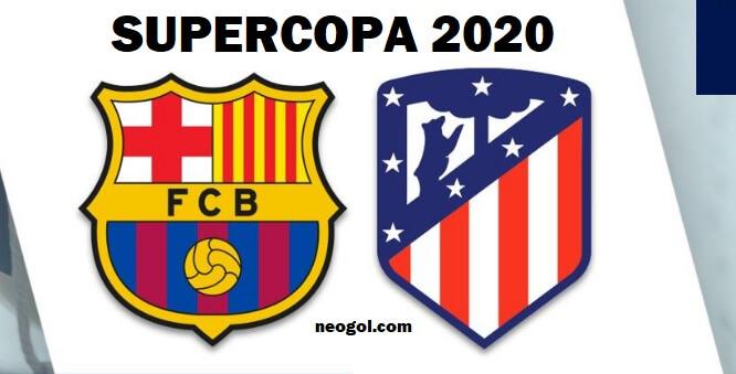 Barcelona-Atlético Supercopa 2020