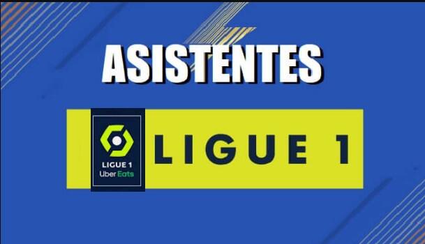 Máximos Asistentes Liga Francesa 2020-2021