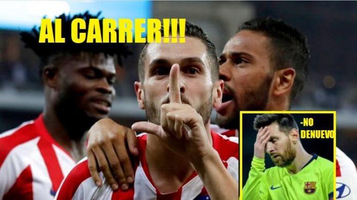 Memes Barcelona-Atlético Supercopa