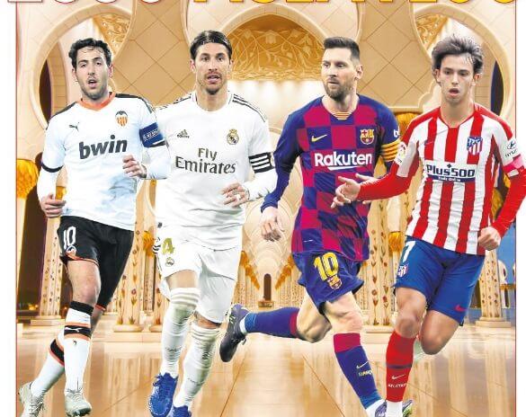 Portadas Diarios Deportivos Miércoles 8